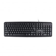 Клавиатура Vinga KB110BK мембранная, USB, черная