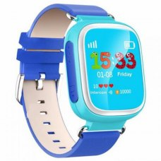 Смарт-годинник дитячий Q8 (GPS,IP67,0,3 MP, phone book,pedometr,distance,safe area)(blue)