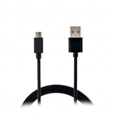 Кабель Grand-X USB-micro USB PM01B 2,1A, 1m, Black