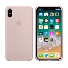 Чохол Silicon Case Apple iPhone X Pink Sand ORIGINAL