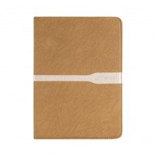 Универсальный Чохол 7 для планшетів  полоса (резинка), Gold