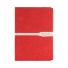 Универсальный Чохол 7 для планшетів  полоса (резинка), Red