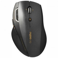 Мишка бездротова, Rapoo 7800p Gray, бездротова (радіо), USB-нано, USB, BOX, лазерна