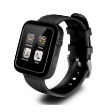 Смарт-годинник UWatch K8 (IPS, 1.44, IP67, SOS, Blood Pressure, Heart rate, Sim, GPS, GeoZone, black)
