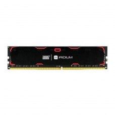 Модуль пам'яті  DDR4 16GB 2400 MHz Iridium Black GOODRAM (IR-2400D464L17/16G) 1, 2400 MHz, CL17, 1.2 V