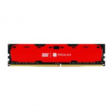 Модуль пам'яті  DDR4 8GB 2400 MHz Iridium Red GOODRAM (IR-R2400D464L15S/8G) 1, 2400 MHz, CL15, 1.2 V