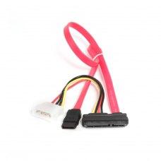 Gembird кабель комбо SATA, дата 35 см, питание-13.5см (CC-SATA-C1)
