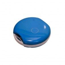 Трекер для домашніх тварин W52 (LBS+GPS+WIFI+AGPS, IP66, SOS button, Tracking) (blue)
