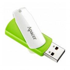 USB флеш APACER AH335 16GB Green/White (AP16GAH335G-1)