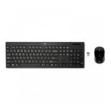 Комплект (клавиатура, мышь) беспроводной HP 200 (Z3Q63AA) Black USB