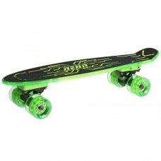 Скейтборд Neon Hype Зелений N100789