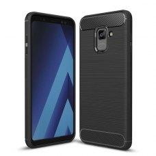 TPU чохол iPaky Slim Series для Samsung A730 Galaxy A8 Plus (2018) Black