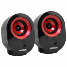 Акустична система 2.0 Greenwave SA-603 Black/Red
