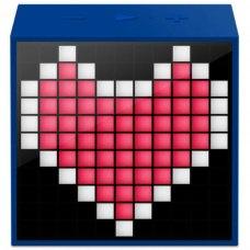 Колонка портативна Divoom Timebox mini (DIMTMIBL) Blue