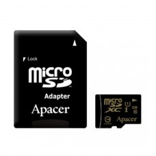 microSDXC card 64G Apacer class10 UHS-I + SD adapter (AP64GMCSX10U1-R)