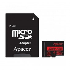 microSDHC card 32G Apacer class10 UHS-I 85Mb/s + adapter (AP32GMCSH10U5-R)