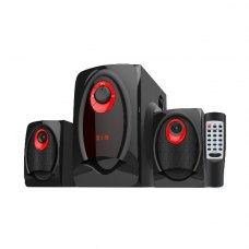 Акустична система 2.1, Greenwave SA-2010BT Black-Red