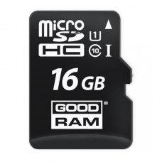 microSDHC карта 16Gb GoodRam class10 без SD адаптера UHS-I (M1A0-0160R12)