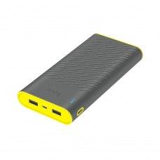 Зовнішній акумулятор PowerBank HOCO B31А Rege 30000mAh (Gray)