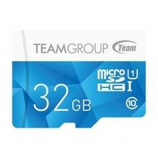 microSDHC карта 32Gb Team class10 з SD адаптером UHS-I (TCUSDH32GUHS02) 10 (МБ/с) 15 (МБ/с)