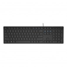 Клавіатура Dell KB216 RUS Black (580-ADGR)