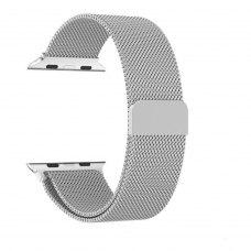 Ремінець Milanese Loop for Apple Watch 38/40 mm Silver