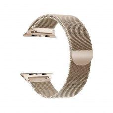 Ремінець Milanese Loop for Apple Watch 42/44 mm Gold