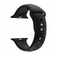 Ремінець Silicone Watch band for Apple Watch 38/40 mm Black
