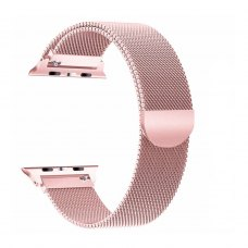 Ремінець Milanese Loop for Apple Watch 42/44 mm Rose Gold