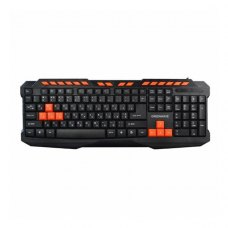 Клавіатура дротова ігрова, GREENWAVE KB-GM-116 M, чорна (R0015184)