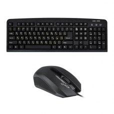 Подарунок клавіатура LogicPower LP-KB 000 USB Black+ мишка LF-MS 070, USB