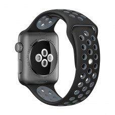 Ремінець Nike Watch Band for Apple Watch 38mm Black/Grey