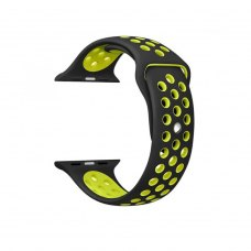 Ремінець Nike Watch Band for Apple Watch 38mm Black/Volt