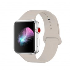 Ремінець Silicone Watch band for Apple Watch 42mm Stone