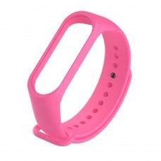 Браслет для Xiaomi Mi Band 4 / 3 (silicone) Pink