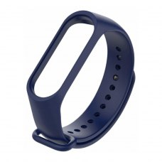 Браслет для Xiaomi Mi Band 4 / 3 (silicone) Royal Blue