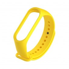 Браслет для Xiaomi Mi Band 4 / 3 (silicone) Yellow