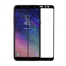 Захисне скло  MakeFuture Full Cover Full Glue для Samsung J4 2018 (J400) Black