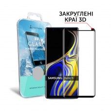 Захисне скло  MakeFuture 3D для Samsung Note 9 Black