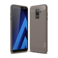 TPU чехол iPaky Slim Series для Samsung J810 Galaxy J8 (2018) Grey