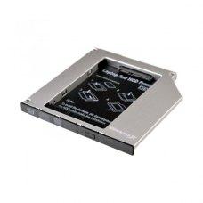 Адаптер підключення HDD 2,5 ' 'у відсік приводу ноутбука, SATA/SATA3 Slim 9,5mm Grand - X (HDC-24N)