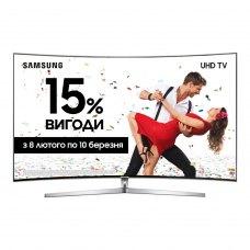 Уцінка Телевізор Samsung 55MU9000 (UE55MU9000UXUA) 4K UHD 3840x2160 вигнутий дисплей , Smart TV, Wi-Fi, DVB-C, DVB-S, DVB-S2, DVB-T, DVB-T2