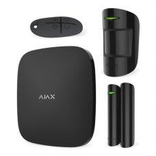 Комплект охоронної сигналізації Ajax StarterKit чорний, Jeweller