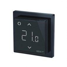 Терморегулятор DEVIreg Smart (+5+45С), Wi-Fi, 85 х 85мм, макс. 15A, чорна