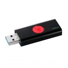 USB флеш 32GB Kingston DataTraveler 106 Black/Red (DT106/32GB) 3 1