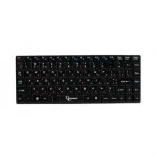 Клавіатура бездротова Gembird KB-P2-UA, Phoenix серія, тонкий дизайн, каркас клавіш типу X, RF інтерфейс, українська розкладка