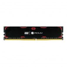 Модуль пам'яті  DDR4 8GB 2400 MHz Iridium Black GOODRAM (IR-2400D464L15S/8G) 1, 2400 MHz, CL15, 1.2 V