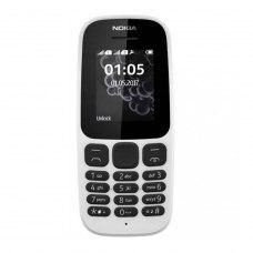 (УЦІНКА)Мобільний телефон Nokia 105 Single Sim NEW White ** потертості дисплею, вітринний