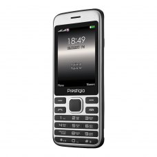 (УЦІНКА)Мобільний телефон Prestigio 1281 (Grace A1) Black ** незначні потертості дислею, вітринний