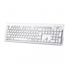Клавиатура проводная Genius SlimStar 130 USB White Rus (31300726104)